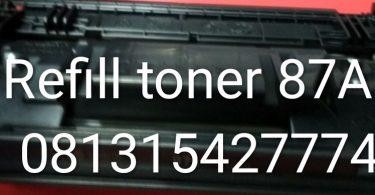 Harga Refill Toner 87A