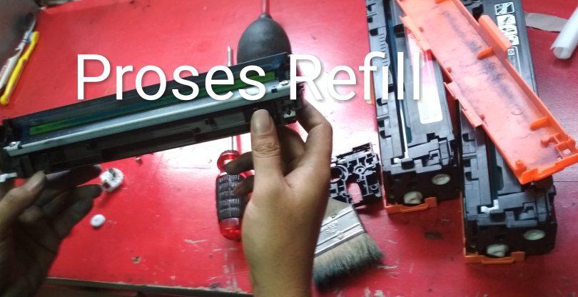 Harga Refill Toner HP 410A
